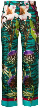 F.R.S For Restless Sleepers floral straight-leg trousers