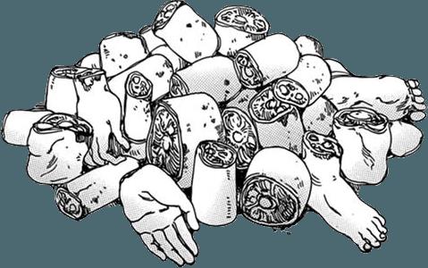 Limb pile