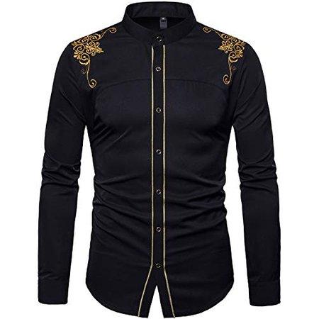 Black and Gold dress shirt