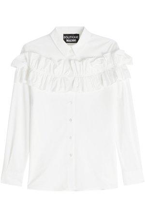 Cotton Shirt with Ruffles Gr. IT 40