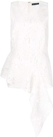 Palm lace sleeveless top
