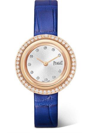 Piaget | Possession 29mm 18-karat rose gold, alligator and diamond watch | NET-A-PORTER.COM