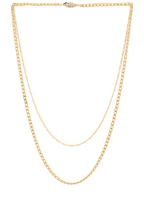 Brooklyn Double Chain Necklace