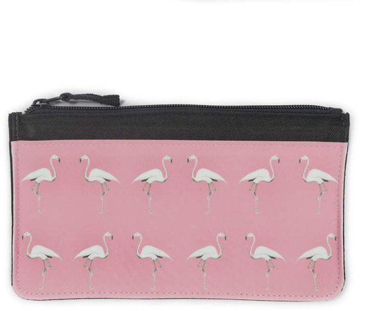 Dwelling Bird - Flamingo Accessory Case Miami Pink