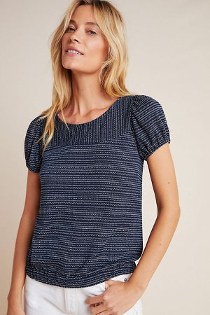 Piera Puff-Sleeved Top | Anthropologie