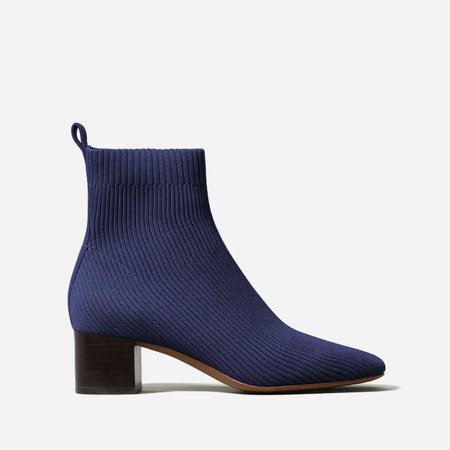 Women's Glove Boot in ReKnit | Everlane blue
