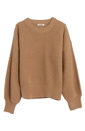 Madewell Fairbanks Pullover Sweater | Nordstrom