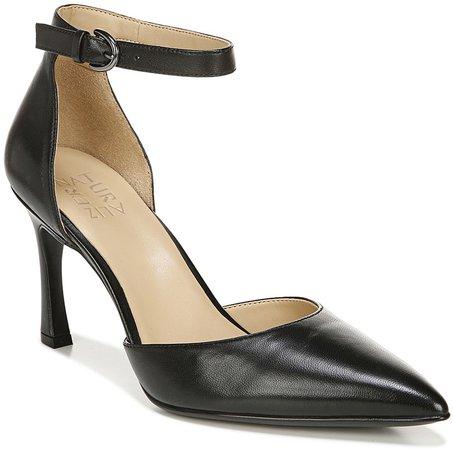 Women's Pumps BLACK - Black Aurelia Leather Pump - Women