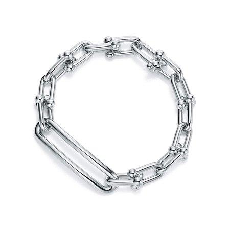 Tiffany HardWear link bracelet in sterling silver, medium. | Tiffany & Co.