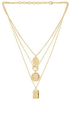 8 Other Reasons Electric Feel Necklace in Gold | REVOLVE