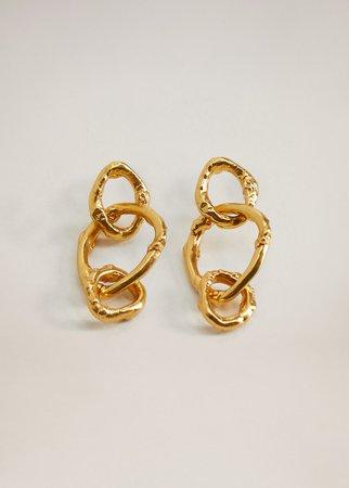 Link earrings - Women | Mango USA