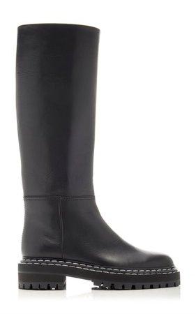 Leather Knee High Boots By Proenza Schouler | Moda Operandi