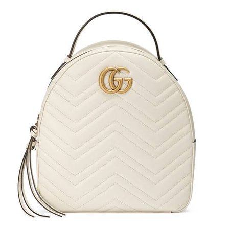 GG Marmont quilted leather backpack - Gucci Women's Backpacks 476671DTDHD9022