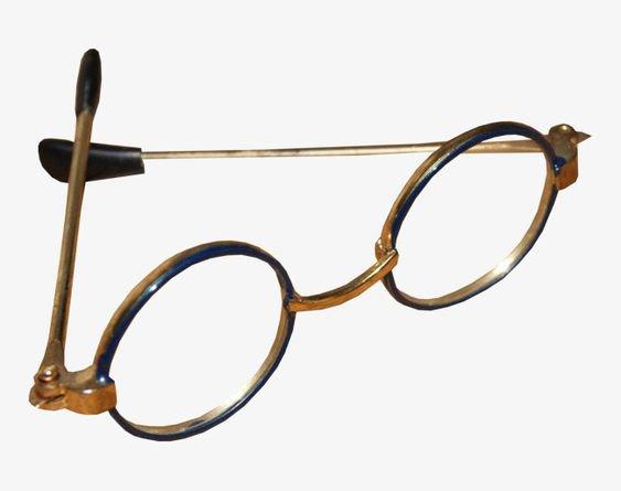 dark academia glasses