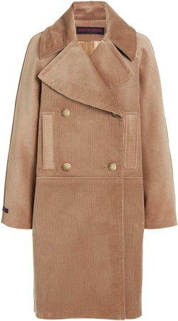 Martin Grant Corduroy Pea Coat