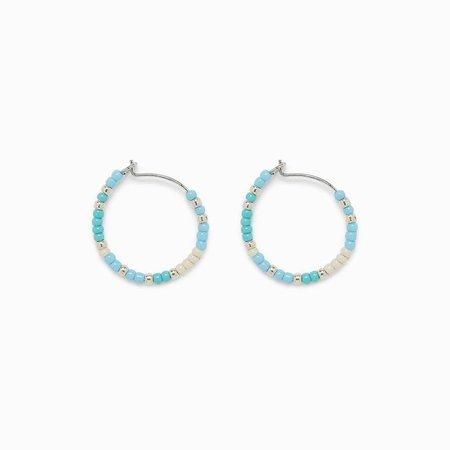 Playa Seed Bead Hoop Earrings | Pura Vida Bracelets