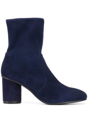 Stuart Weitzman Margot Suede Ankle Boots - Farfetch