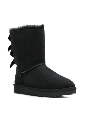 Shop black UGG Bailey Bow II boots with Express Delivery - Farfetch