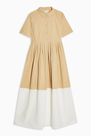 **Beige Ankle Dress by YAS   Topshop