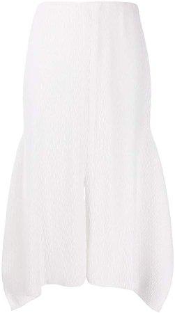 Front Slit Midi Skirt
