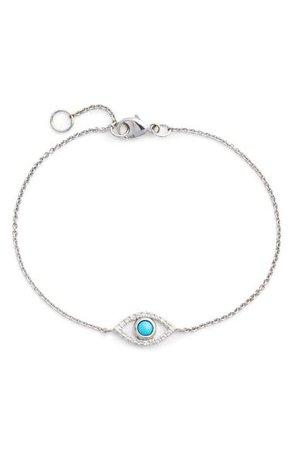 Anzie Evil Eye Turquoise Bracelet | Nordstrom