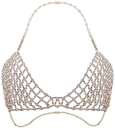 diamond bralette