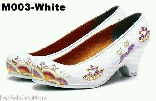 White Korean Shoe 1
