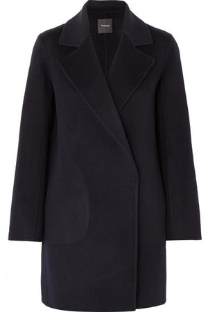 Theory | Boy wool and cashmere-blend felt coat | NET-A-PORTER.COM