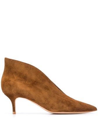 Gianvito Rossi Texas Asymmetric Edge Boots - Farfetch