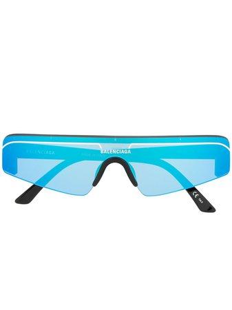Balenciaga Eyewear Ski Cat Solglasögon - Farfetch