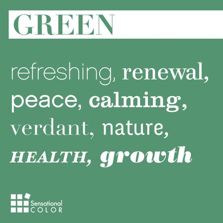 Describe green