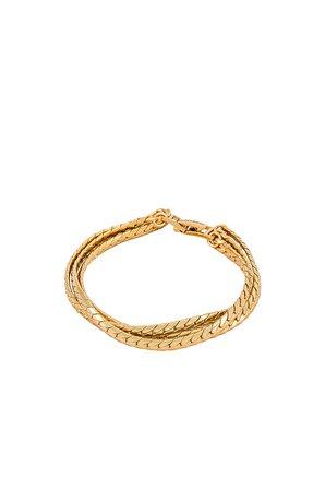 Jenny Bird Priya Layered Bracelet in Gold | REVOLVE