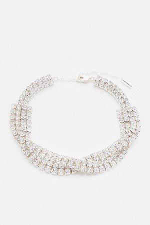 Diamante Statement Necklace | Karen Millen