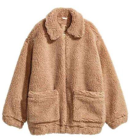 teddy bear jacket
