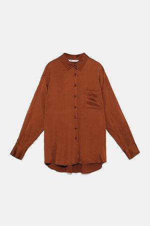 Zara silk shirt 1 Feb 2019
