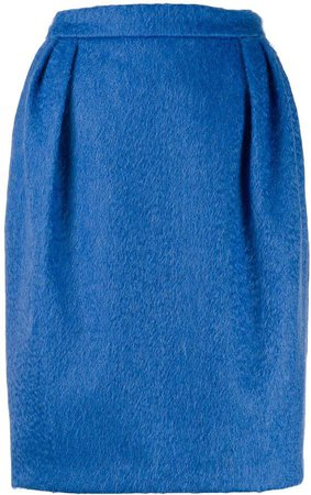 pleated waist skirt