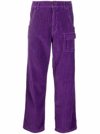 ERL corduroy cargo trousers - FARFETCH
