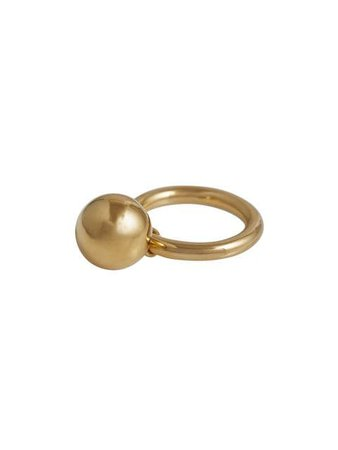 Burberry Charm Gold-plated Ring