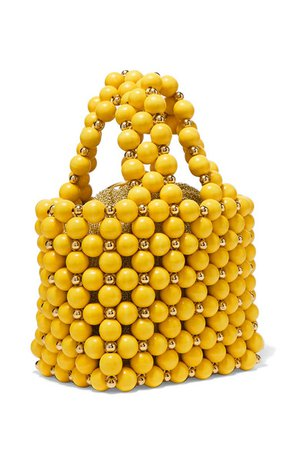Vanina | Simi small beaded tote | NET-A-PORTER.COM $395