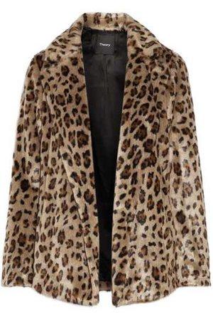 Theory | Clairene leopard-print faux fur jacket | NET-A-PORTER.COM