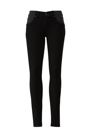 Black Verdugo Maternity Ultra Skinny Jeans by PAIGE for $30 | Rent the Runway