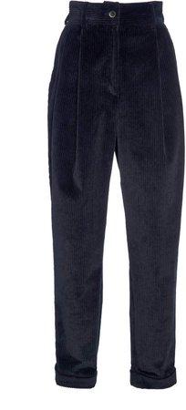 Dolce & Gabbana Tapered Corduroy Pants