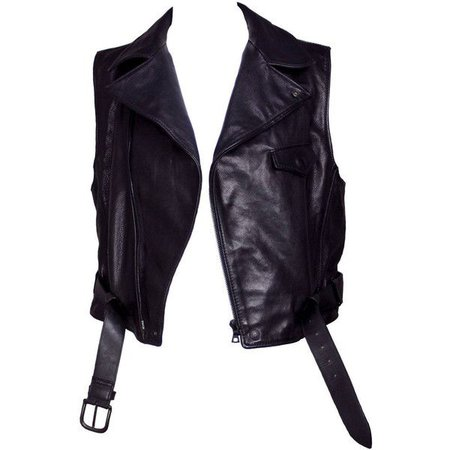 black motorcycle vest polyvore – Pesquisa Google