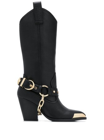 Versace Jeans Couture Toe-Tipped Boots Aw20 | Farfetch.Com