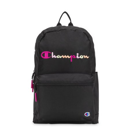Champion - Champion Billboard Backpack, Black/Pink - Walmart.com - Walmart.com