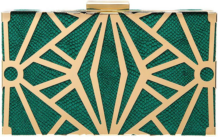 CARIEDO Women Evening Bag Elegant Clutch Purse Exquisite Velvet Metal Hollow out Handbags Prom Wedding Party (Green): Handbags: Amazon.com