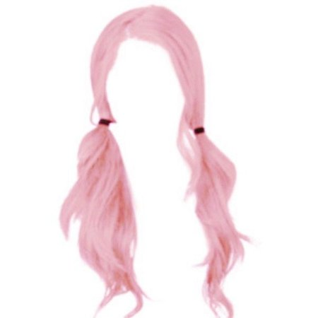Pastel pink pigtails