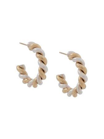 Laura Lombardi Mella Hoop Earrings - Farfetch