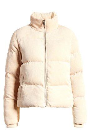 Vigoss Corduroy Puffer Jacket | Nordstrom