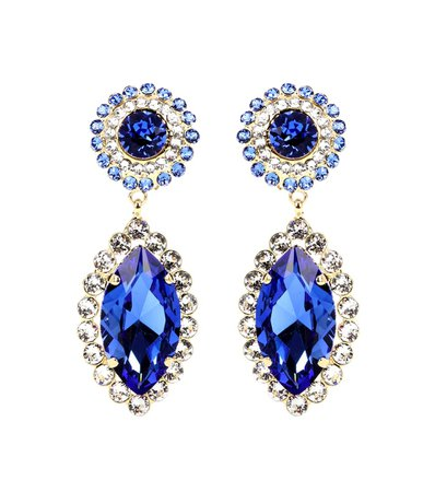 Crystal-Embellished Clip-On Earrings - Dolce & Gabbana | mytheresa.com